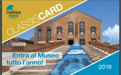Con la Classis Card ingresso gratuito al Museo Classis Ravenna, all'Antico Porto di Classe e alla Domus dei Tappeti di Pietra