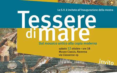 Tessere di mare: celebri mosaici marini al centro della prima esposizione temporanea del Classis Ravenna