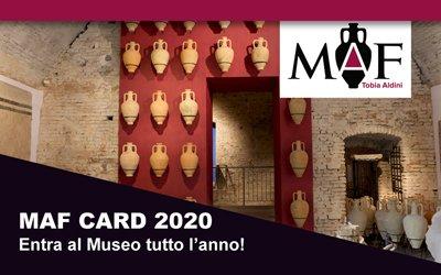 MAF Card: entra al Museo tutto l'anno!